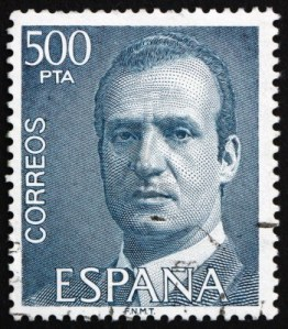 13365099-espagne--circa-1981-un-timbre-imprime-dans-l-39-espagne-montre-le-roi-juan-carlos-i-roi-d-39-espagne