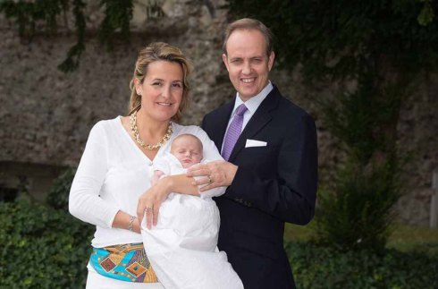 ***EXCLUSIVE*** Louise Marguerite of Orleans and family