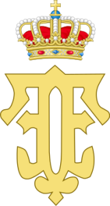 192px-Royal_Monogram_of_Queen_Fabiola_of_Belgium.svg