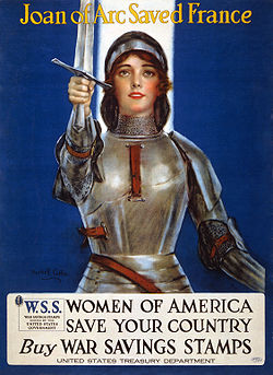 250px-Joan_of_Arc_WWI_lithograph2
