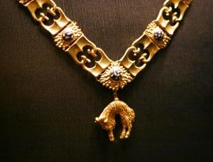 Collane eines Ritters vom Orden vom Goldenen Vlies