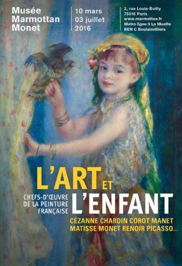 affiche-exposition-l-art-et-l-enfant-musee-marmottan-sdp-green-hotels-paris-eiffel-trocadero-gavarni
