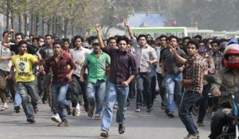 Manifestation-militants-islamistes-Dacca-12-f-vrier-2013