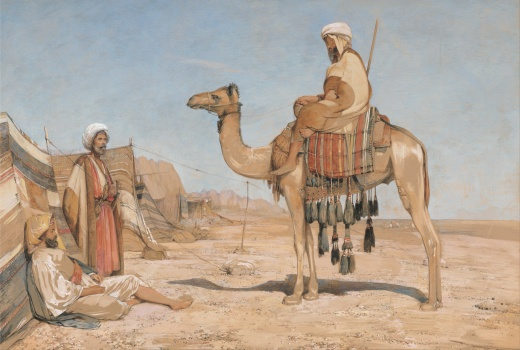john_frederick_lewis_-_a_bedouin_encampment_or_bedouin_arabs_-_google_art_project