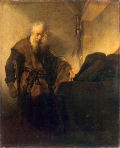 rembrandt-van-rijn-st-paul-at-his-writing-desk