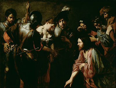 valentin_de_boulogne_french_-_christ_and_the_adulteress_-_google_art_project-1