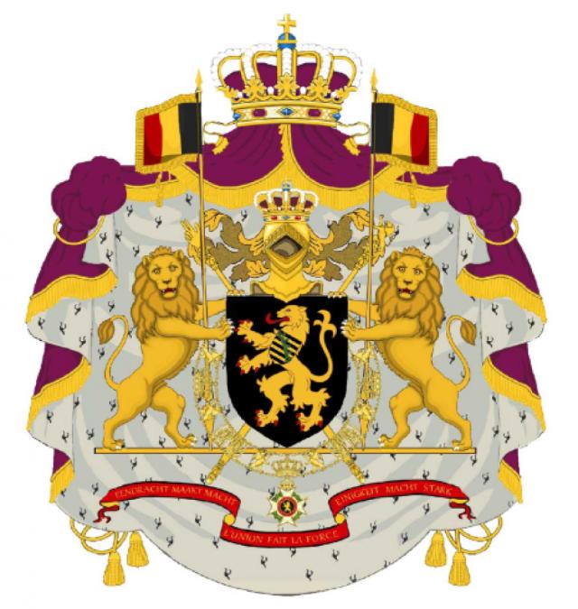 Modification Des Armoiries Du Roi Des Belges Et De La Maison